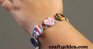 PROJECT: Picture Bracelet (made from washers)