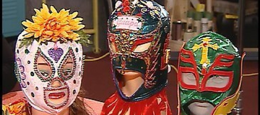 PROJECT: Custom Made Lucha Libre Mask