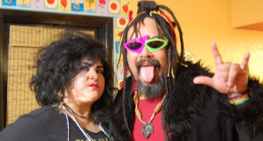 Siouxsie Sioux and George Clinton costume