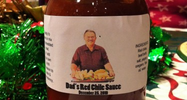 Dad's Red Chile Sauce!