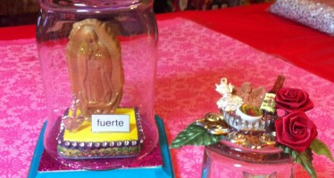 Glass Jar Shrines
