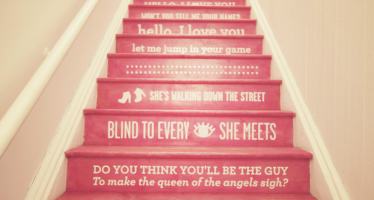 Artful Affirmation Staircase