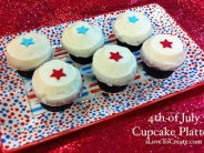 4th of July Platter Tutorial – and a @Sprinkles cupcakes #giveaway too!