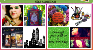 NYC Crafty Chica Event: Crafty in the City, August 1st!