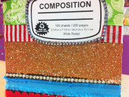 Mexi-Boho Composition Book by Crafty Chica