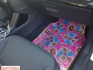 DIY Fabric & Vinyl Car Mats