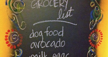 Make a Chalkboard Door!