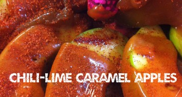 MEXI-HALLOWEEN: Chile-lime Caramel Apples