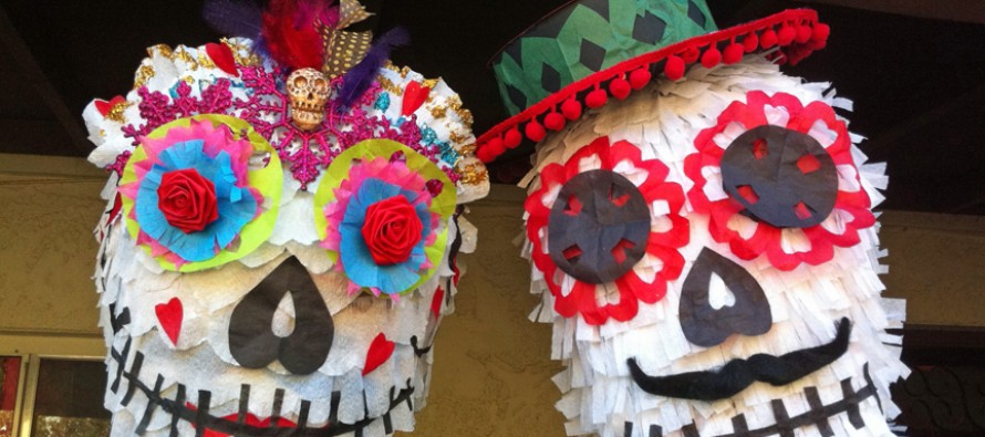 I Made More Sugar Skull Piñatas!
