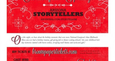 PHX: Come see me tonight at Arizona Storytellers! I'll try not to cry!