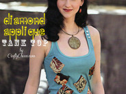 Diamond Applique Tank