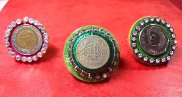 Crystal Coin Jewelry