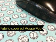 Fabric-covered Mouse Pad