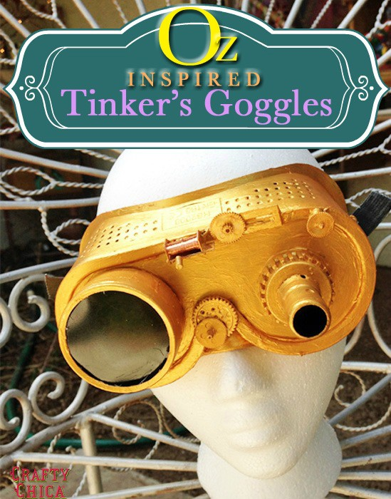 Ring In The Steampunk Decor To Pimp Up Your Home: Oz-inspired Tinker's Goggles