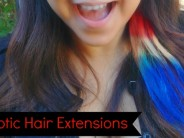 Patriotic Dyed Hair Extensions