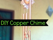 Mexican Milagro Copper Chime