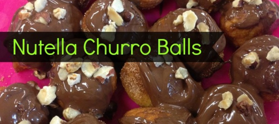 Nutella Churro Balls
