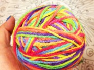 DIY Rainbow Yarn