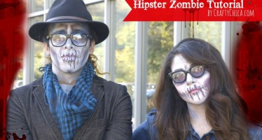 Hipster Zombie Make-Up Tutorial