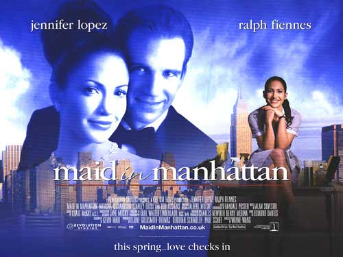 reaction in maid in manhattan movie Maid in manhattan the movie centers on marisa ventura, a maid at a ritzy manhattan hotel with a precocious grade-school son, ty and when marisa tries on a dolce & gabbana coat, a senatorial candidate quickly gets smitten with her.