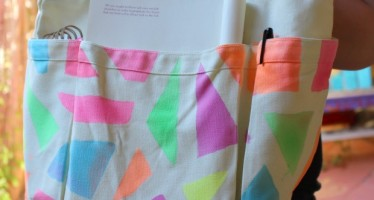 Spray-Dyed Tote