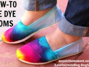 How to Tie-Dye TOMS