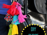 Colorful Purse Tassels & Keychains