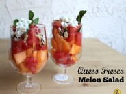 Queso Fresco Melon Salad
