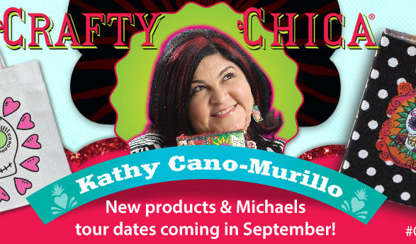 New Crafty Chica Products & Michaels Tour!