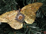 Quintessentially Christmas: Gilded Butterfly Ornaments