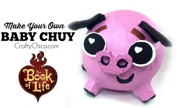The Book of Life Movie: Baby Chuy DIY #BookOfLife