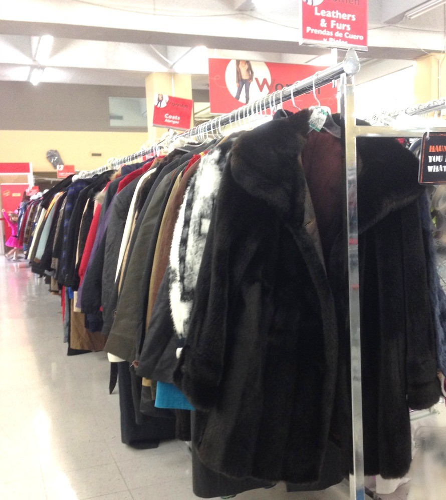 Look at all those coats! #FindTheFind