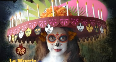 La Muerte Hat & Face Paint Tutorial