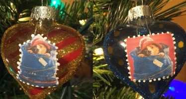 DIY Paddington Ornaments