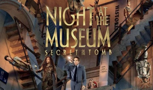 Blu-Ray/DVD GIVEAWAY: Night at the Museum: Secret of the Tomb