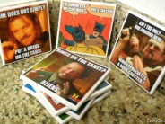 'Coaster Meme' Drink Coasters DIY