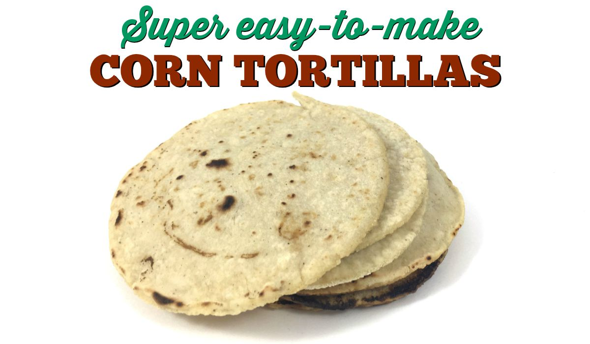 How to make corn tortillas - Crafty Chica™