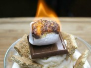 S'more Sundae using a Torch