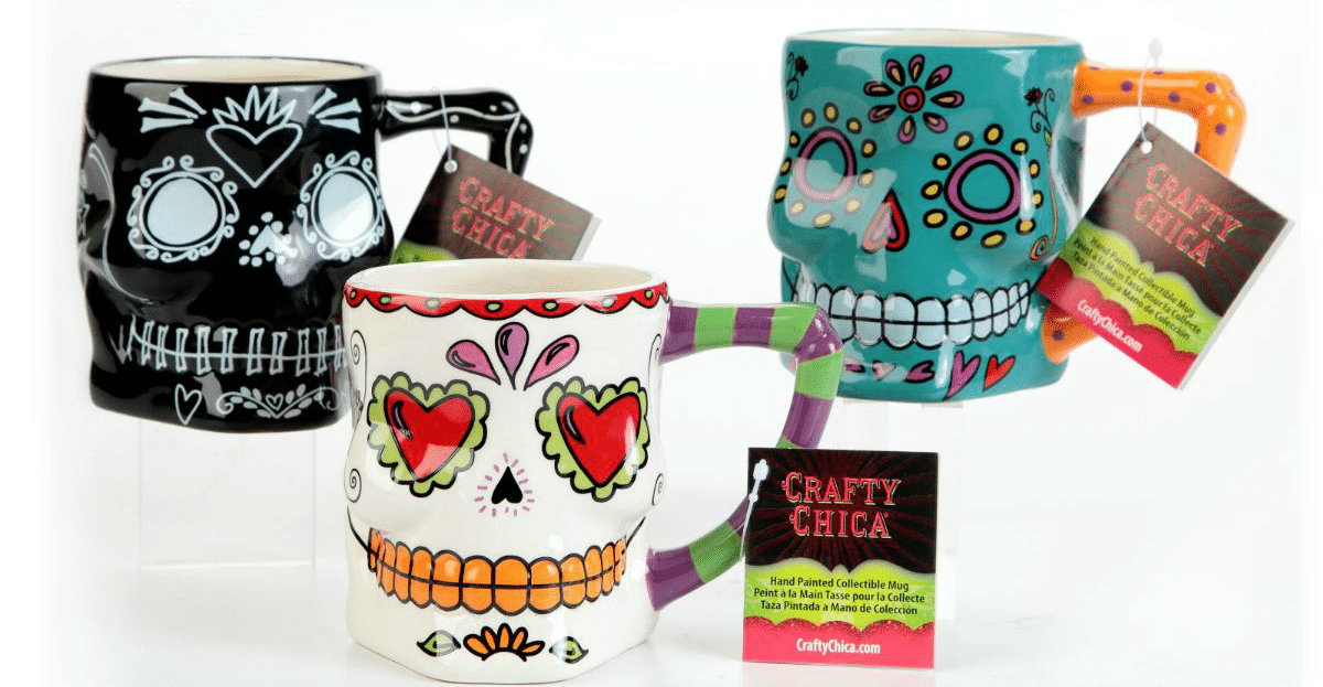 Crafty Chica Skull Mugs The Crafty Chica