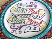 Healthy Meal Affirmation Plates
