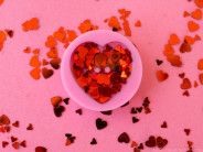 How to Make Heart Resin Buttons