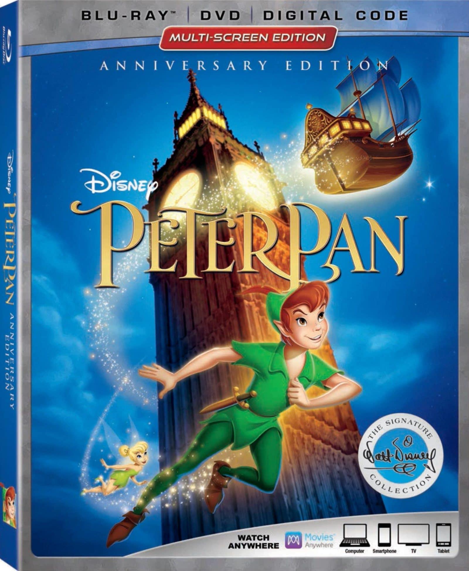 Peter Pan on Blu-ray