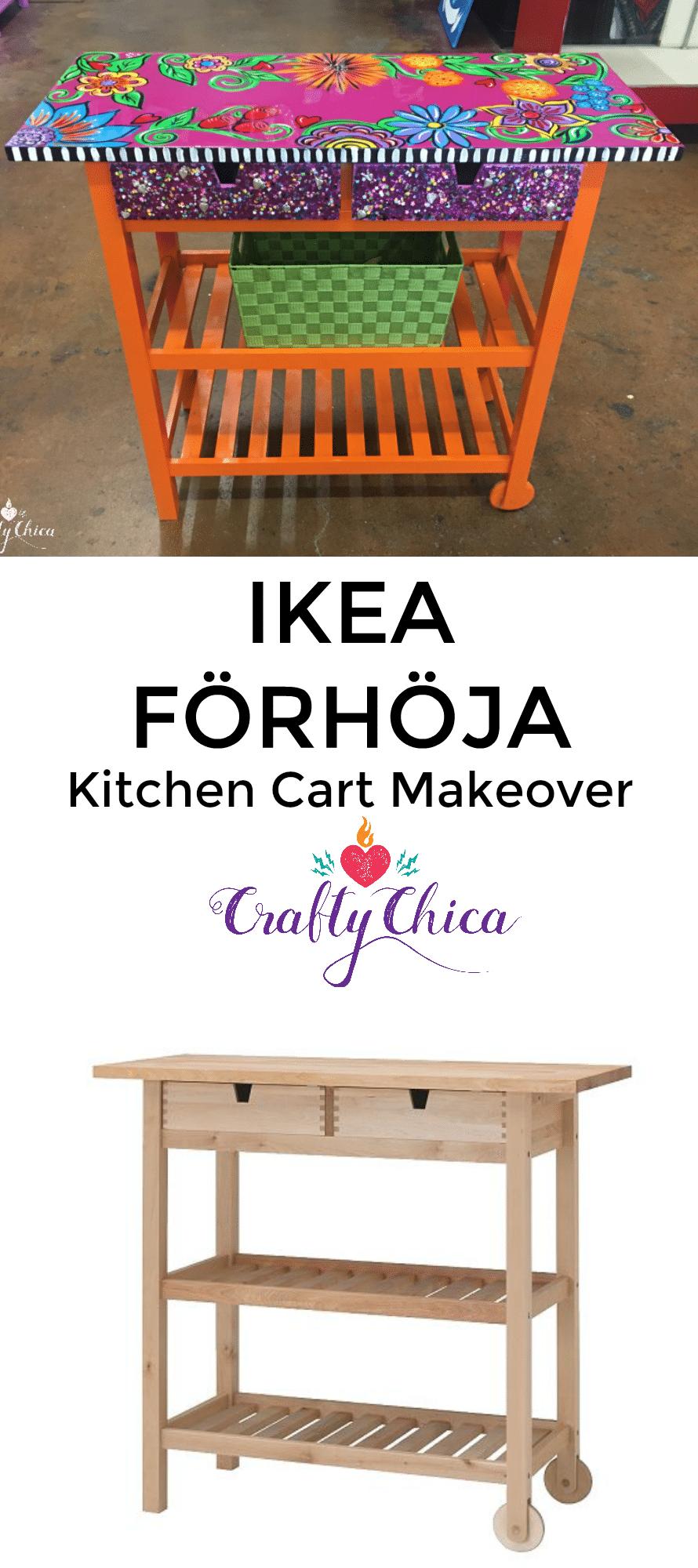 TV TROLLEY IKEA