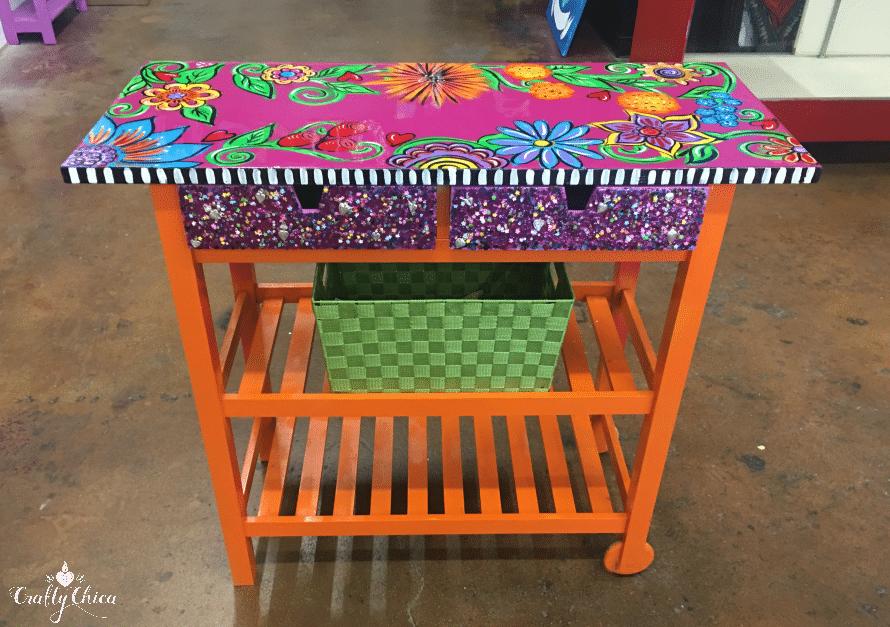 IKEA Kitchen Cart Makeover