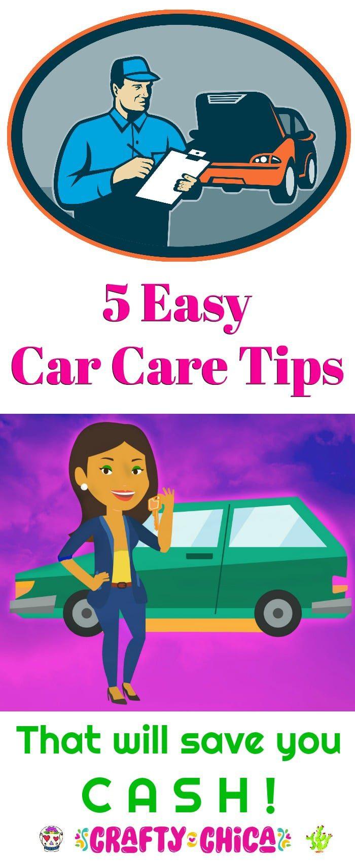 5 easy car tips
