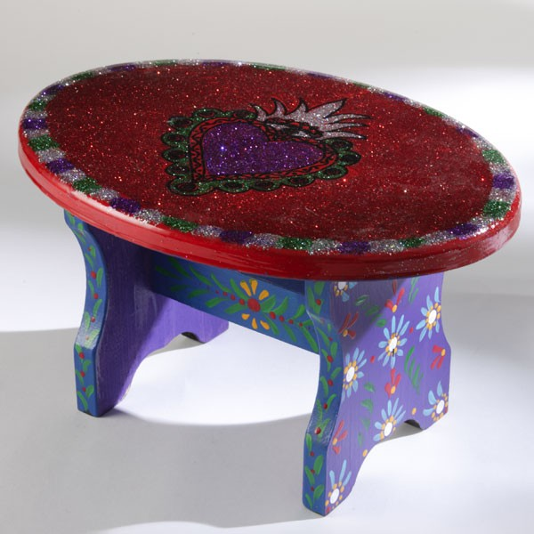 Heart A Flame Step Stool The Crafty Chica