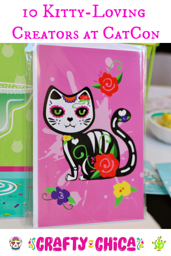 10 CatCon Creators #craftychica #catcon #catcrafts #catmakers