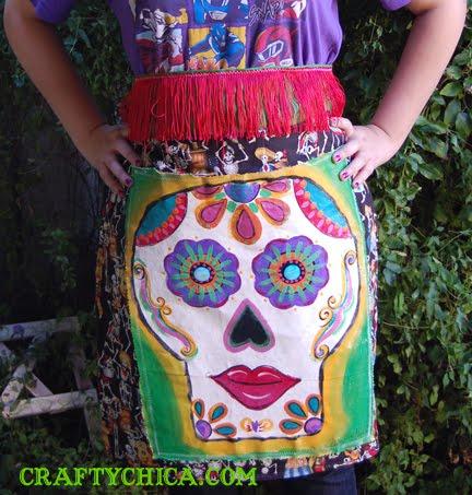 diy-skull-apron