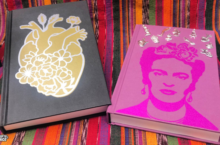 Cricut Maker Beginner: Frida Kahlo Journal! - The Crafty Chica