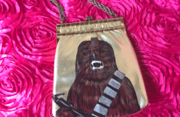 DIY Chewbacca Purse by Crafty Chica.